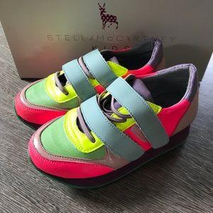 Stella McCartney Whoosh Trainer Sneaker size 27
